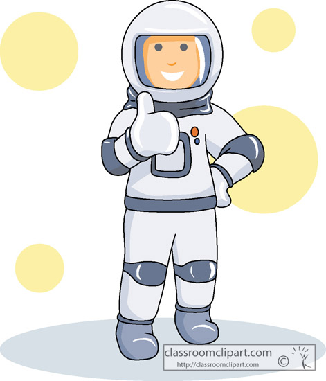 astronauts in space clipart - photo #12