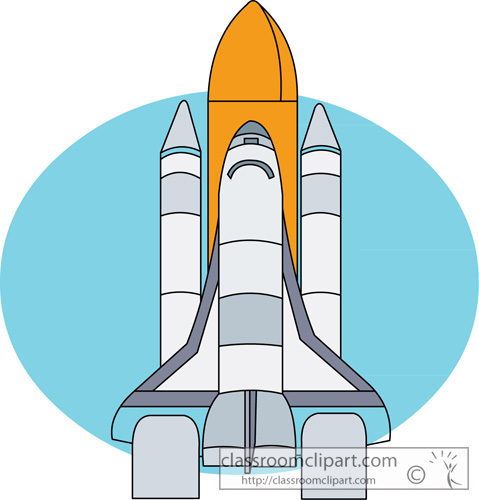 Space : space_clipart_shuttle_08 : Classroom Clipart