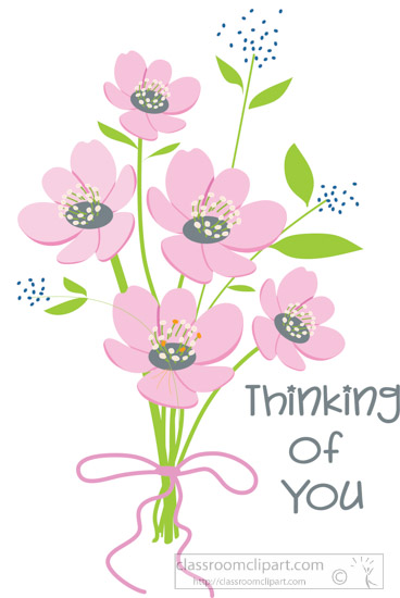 special occasions clipart thinking of you flower bouquet thinking of you clipart gif thinking of you clip art card