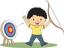 Clip Art Archery Clipart free sports archery clipart clip art pictures graphics aiming target with bow and arrow size 87 kb