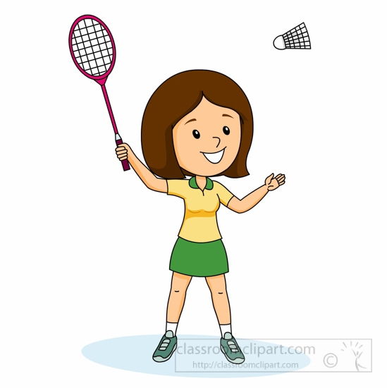 Badminton net clipart