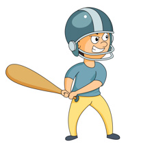 Sports Clipart - Free Baseball Clipart to Download
