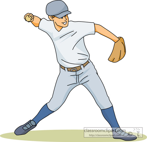 Baseball Clipart : baseball_pitcher_sports_12 : Classroom ...
