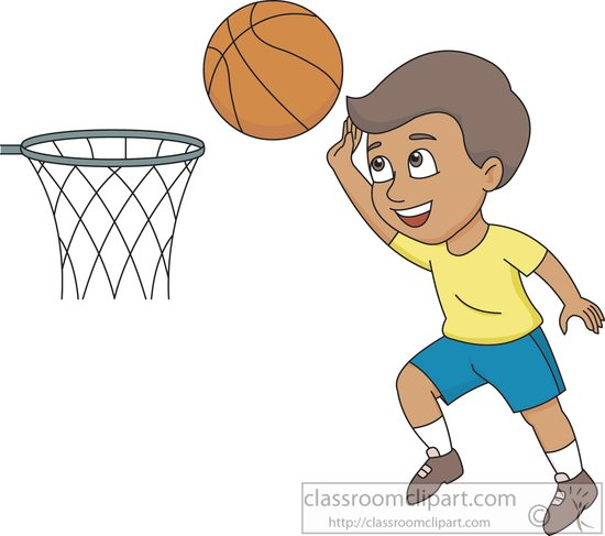 basketball clipart clipart boy shooting hoops basketball clipart rh classroomclipart com clipart of basketball players clipart of basketball game