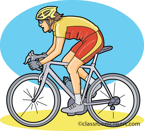 Bicycle Clipart : cycling_racing_03 : Classroom Clipart