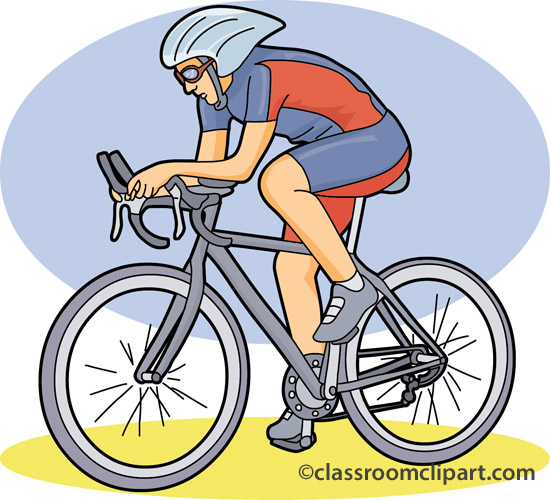 Bicycle Clipart : road_cycling_race : Classroom Clipart