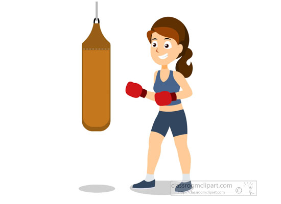 Sports Clipart Free Boxing Clipart To Download