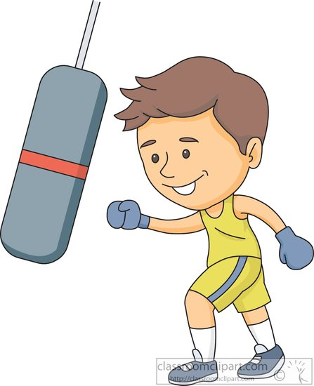 punching bag clipart - photo #15
