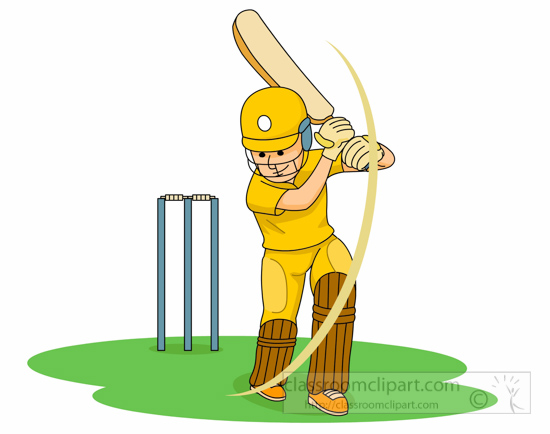 sports clipart free cricket clipart to download