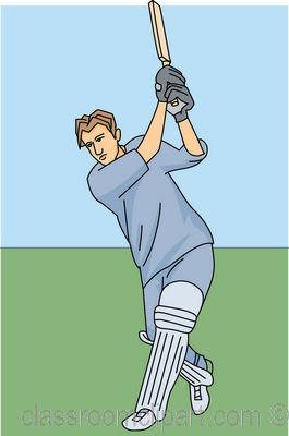 Cricket Bat Clipart Picture