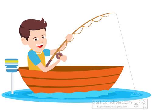 boy-fishing-in small motor boat clipart-317.jpg