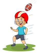 sports clipart free football clipart to download rh classroomclipart com american football player clipart american football clipart black and white