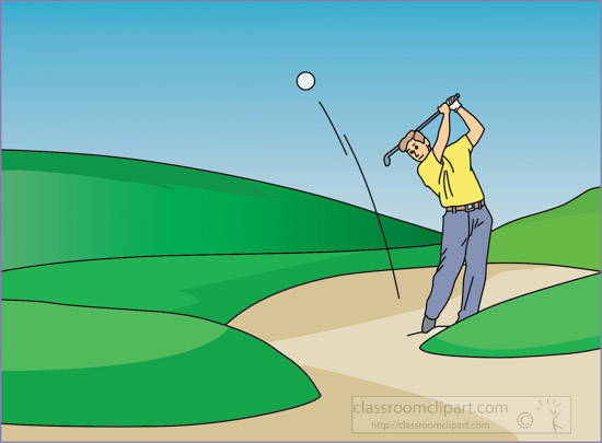 hitting_golf_ball_out_of_sand_trap_clipart.jpg