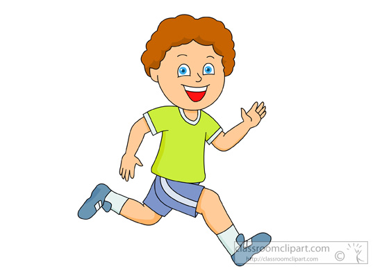 He Clipart Jogging clipart : boy-smiling-while- he -is-running ...