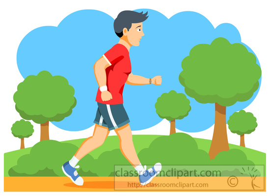 man jogging clipart - photo #38