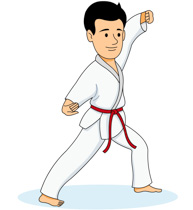 sports clipart free karate clipart to download rh classroomclipart com karate clip art images karate clipart black and white