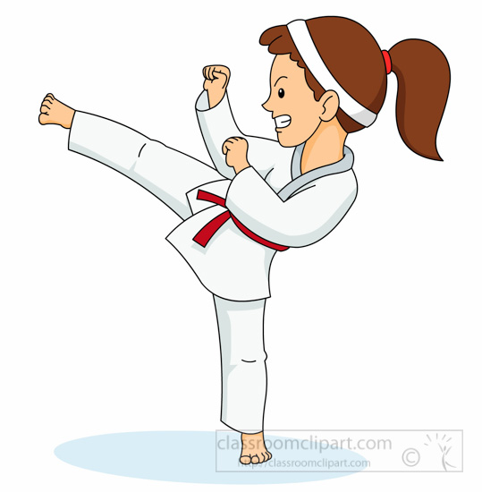 karate clip art kids wwwpixsharkcom images galleries