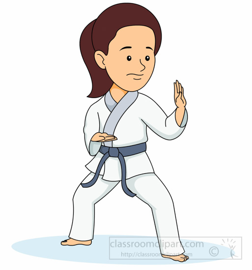 sports clipart free karate clipart to download rh classroomclipart com karate clip art silhouette karate clip art border images