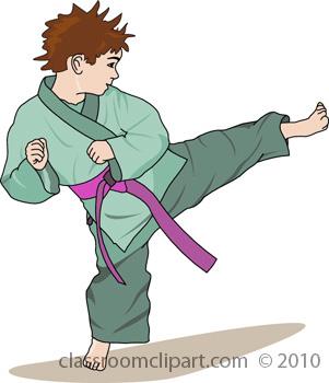 Martial Arts Clipart : 30-12-09_1RB : Classroom Clipart