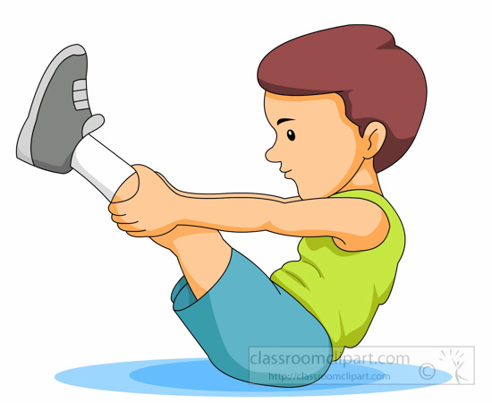 Stretching Exercise Clip Art – Cliparts