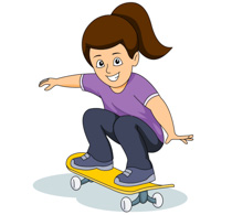 sports clipart free skateboarding clipart to download rh classroomclipart com skateboard clip art borders png free skateboard clip art black and white free