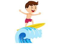sports clipart free surfing clipart to download rh classroomclipart com surfing clip art free surfing santa clipart
