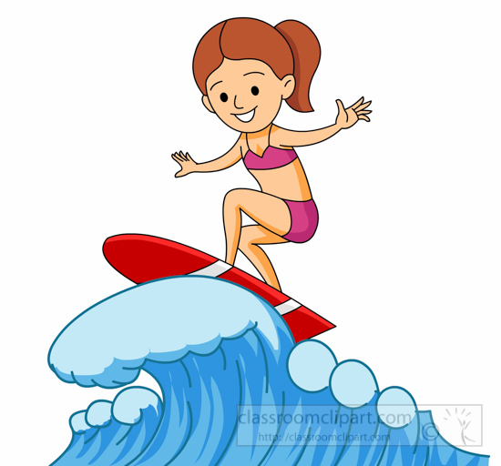 surfing clipart girl surfing on large wave clipart 6214 surfer clip art free surfer clip art free
