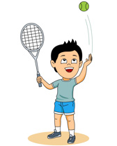 sports clipart free tennis clipart to download rh classroomclipart com clipart tennis racket clip art tennis racket and ball