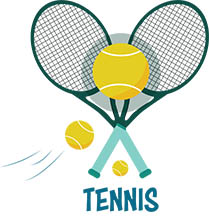 Sports Clipart - Free Tennis Clipart to Download