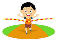 track and field relay clipart - Clip Art Library