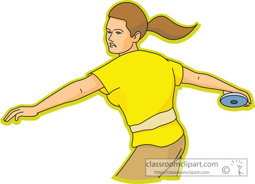 Track and Field Clipart Clipart- discus_throw_sports_13 ...