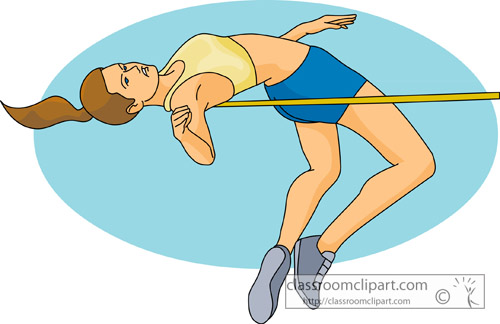 high jump clipart - photo #6