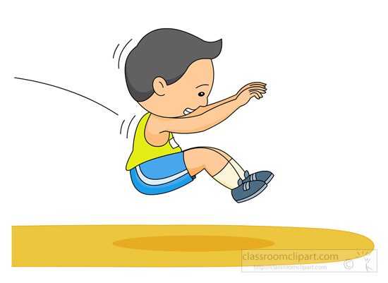 Track and Field Clipart Clipart- long-jump-track-field-131 ...