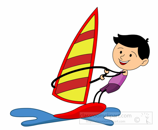 Water Sports Clipart- water-sports-wind-sailing-clipart ...