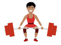sports clipart free weightlifting clipart to download rh classroomclipart com weight lifting clip art female weight lifting clip art female