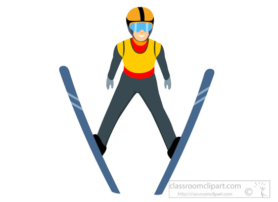 winter sports clipart clipart nordic combined winter olympics rh classroomclipart com winter olympics clip art coloring pages Winter Olympic Sports