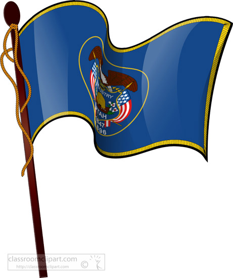 utah-waving-state-flag-on-flagpole-clipart.jpg