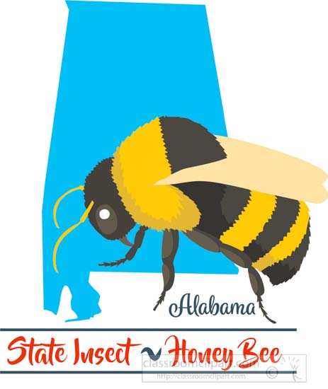 alabama-state-insect-the-honey-bee-clipart-image-45324.jpg