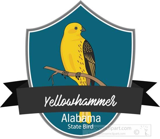 state-bird-of-alabama-yellowhammer-northern-flicker-clipart.jpg