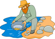 search results for gold rush clip art pictures graphics rh classroomclipart com Gold Mine Panning for Gold