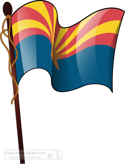 arizona-state-flag-waving-clipart-pole.jpg