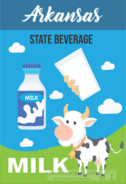 arkansas-state-beverage-milk-vector-clipart.jpg
