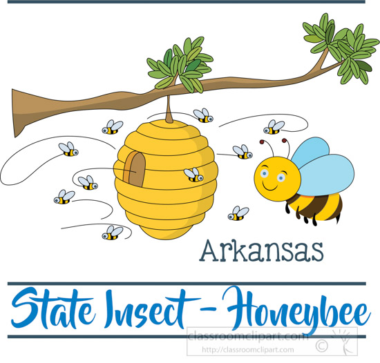 arkansas-state-insect-the-honey-bee-clipart-image.jpg