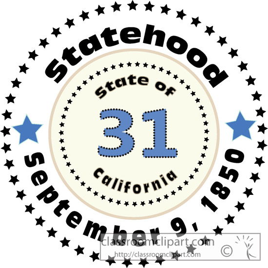 what is the statehood of california