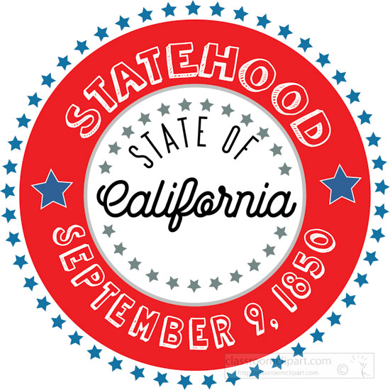 date-of-california-statehood-1850-round-style-with-stars-clipart-image.jpg