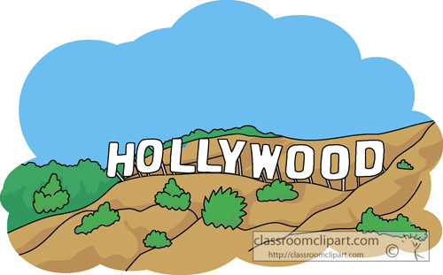 vintage hollywood clipart - photo #44