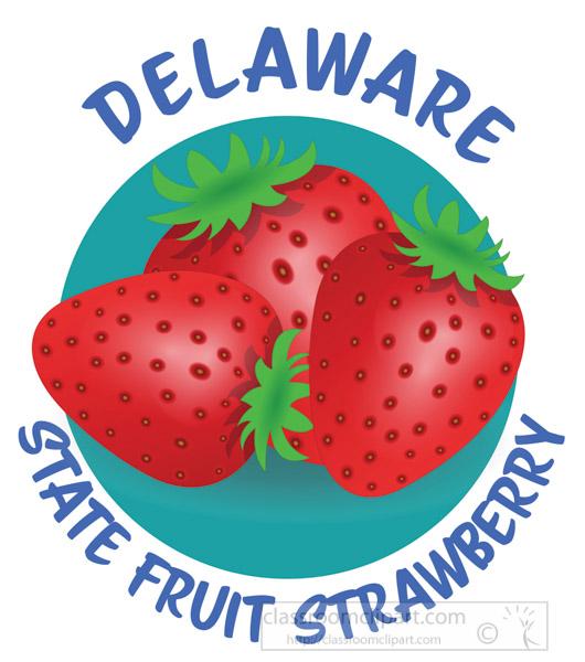 strawberry-state-fruit-delaware-clipart.jpg