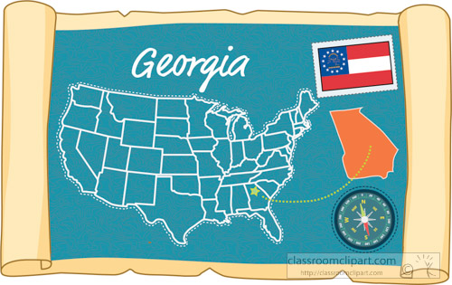scrolled-usa-map-showing-georgia-state-map-flag-clipart.jpg