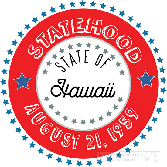 date-of-hawaii-statehood-1959-round-style-with-stars-clipart-image.jpg