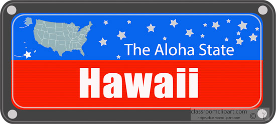 hawaii-state-license-plate-with-nickname-clipart.jpg